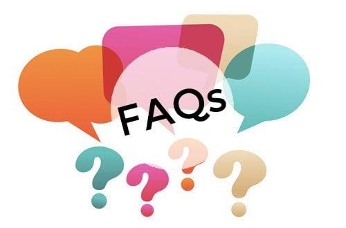 faq service - website questions