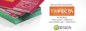 trifecta spalding business cards