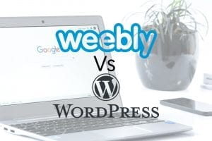 compare weebly wordpress