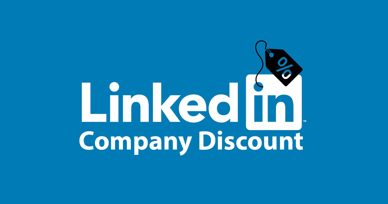 linked in company discount