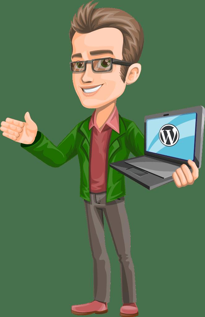 wordpress support person