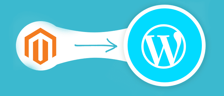 magento websites wordpress migrate