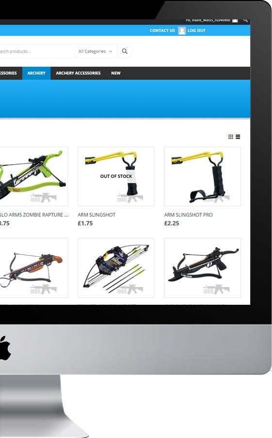 semi commerce trade website