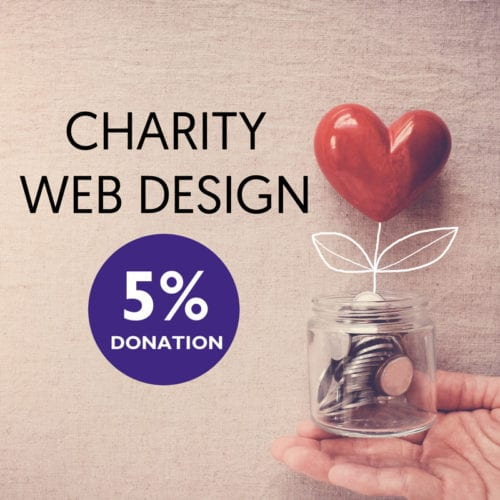 charity web design donation