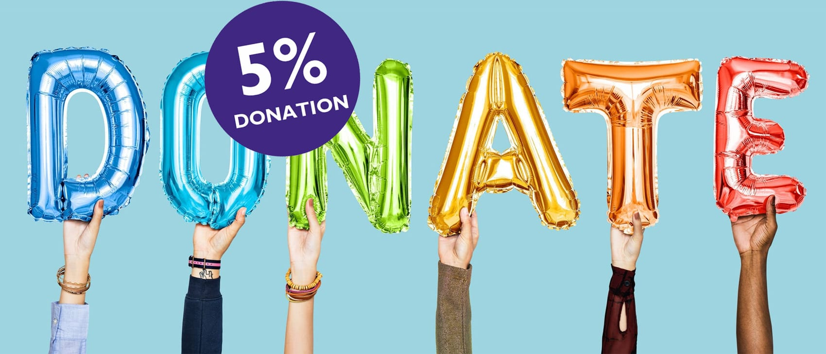 charity website design donation
