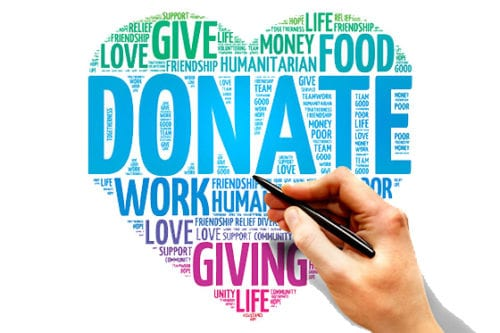 charity website donation