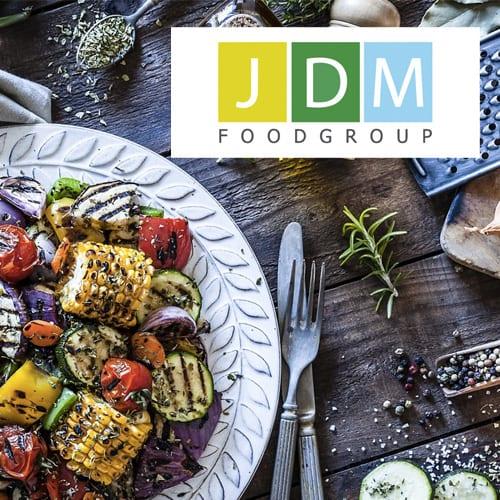JDM Food Group website designer
