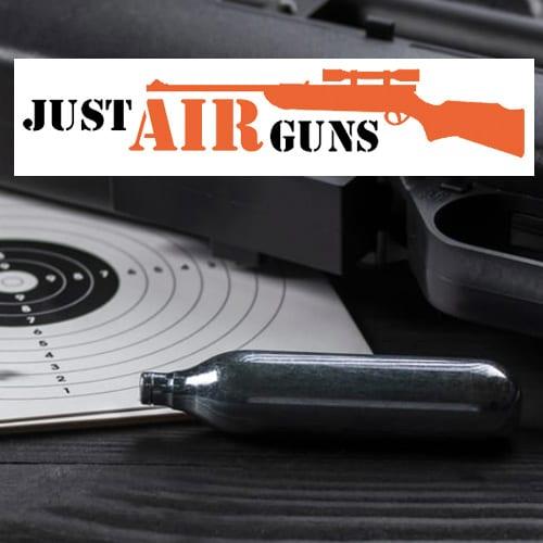Just Air Guns website designer