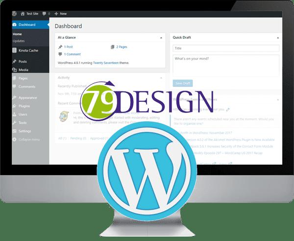 taking the lead spalding website design