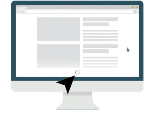 infinity scrolling demo