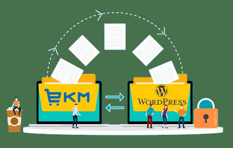 ekm wordpress migrations