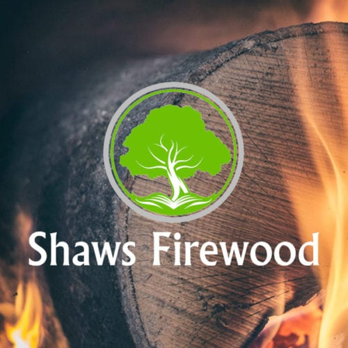 shaws firewood website design project