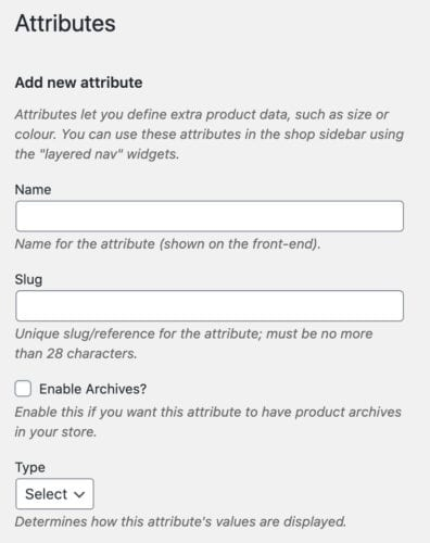 add attribute