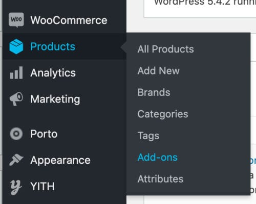 woocommerce product addon