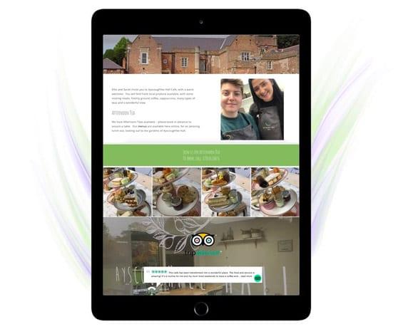 wordpress website design Ayscoughfee