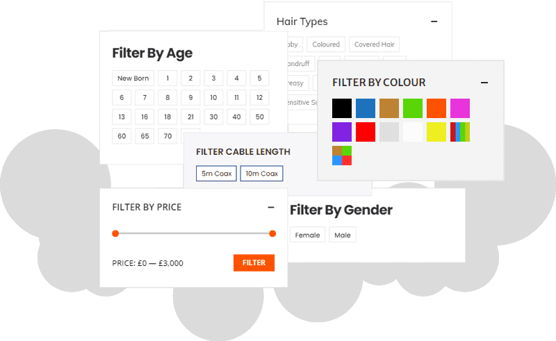 ecommerce filters