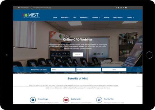 imist website project