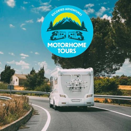 escorted motorhome tours uk