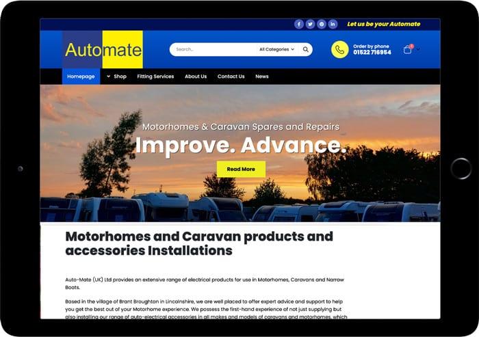 automateuk website design ecommerce