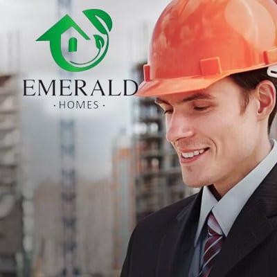 Emerald Homes website design