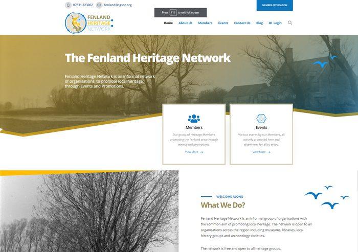 design fenland heritage network