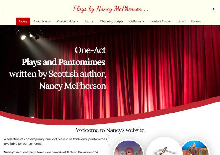 nancy mcpherson website screenshot