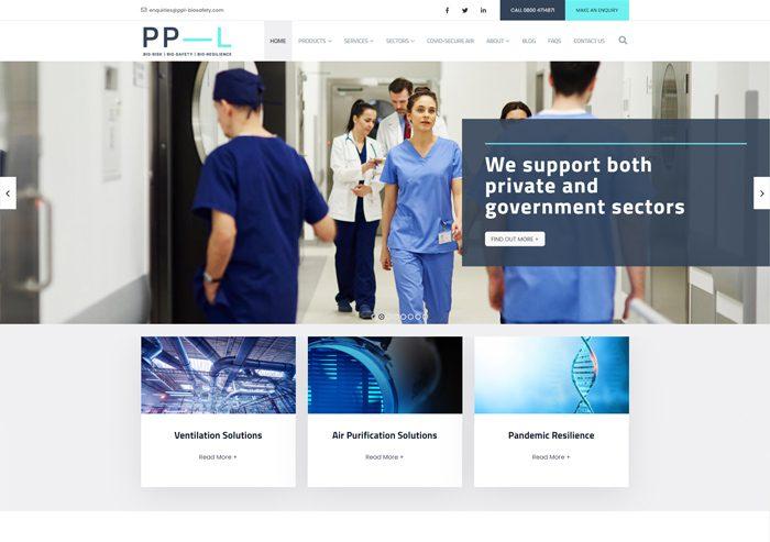 screenshot website ppl